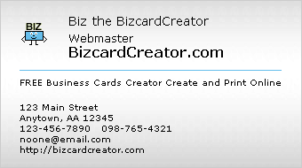business card style 1