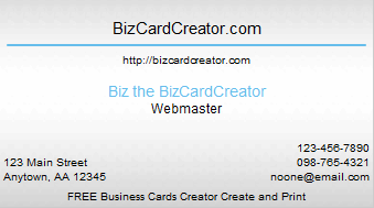 business card style 14