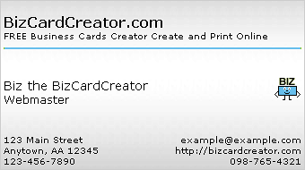 business card style 4