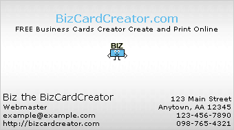 business card style 8