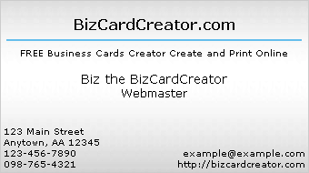business card style 9